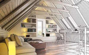 Dachgeschosswohnung (Planung)