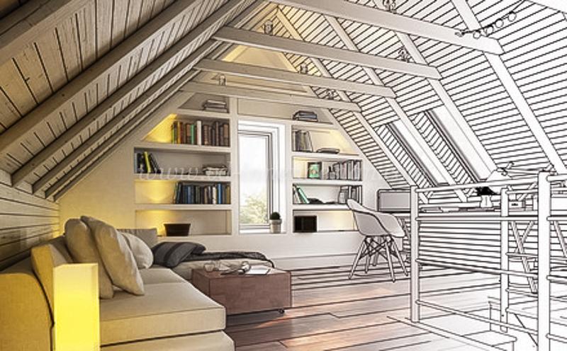 Wohnen im dachgeschoss vd innendesign